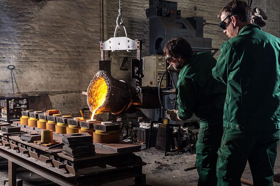 AlNiCo- casting process 2