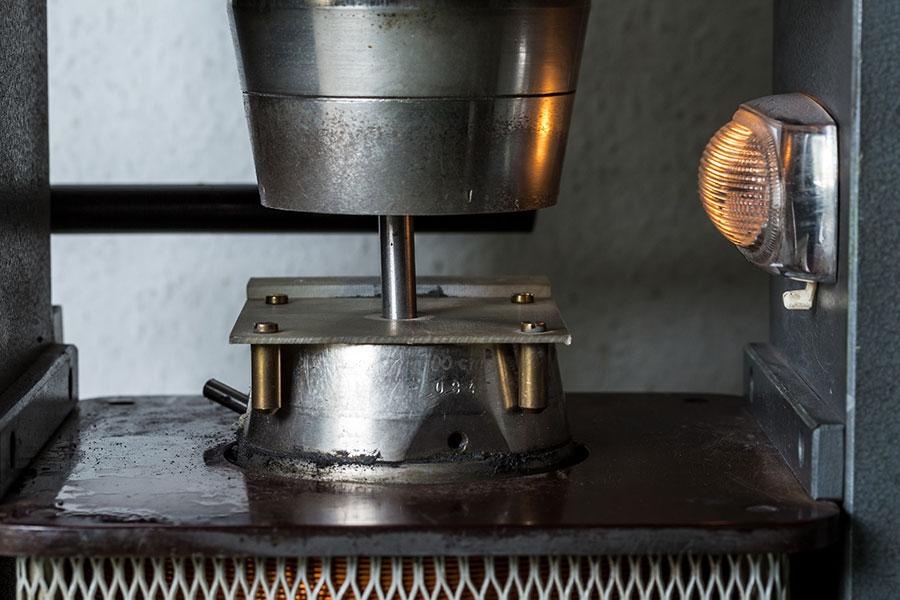 Permagraph mit zu messenden Magnet